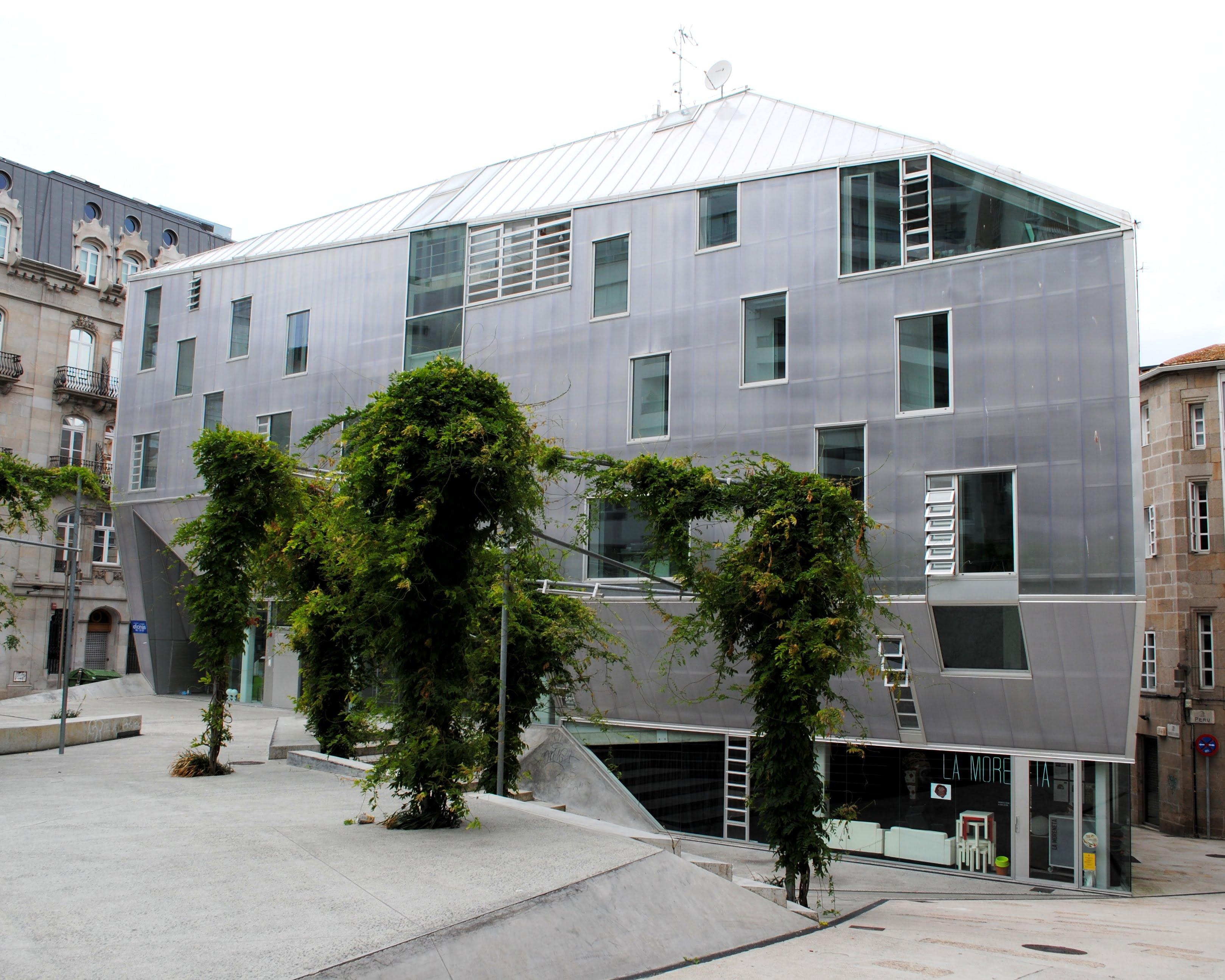 Sede colegio oficial de arquitectos vigo qu hacer en vigo - Colegio monterrey vigo ...