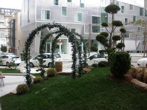 Jardín Zen en Doctor Cadaval