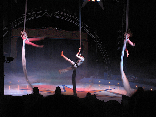 Circo Richards Bros en Samil