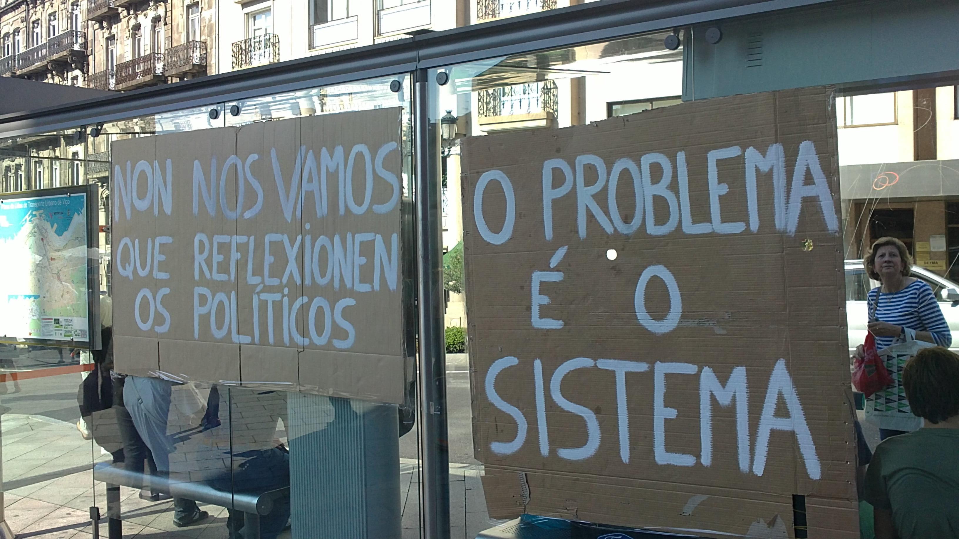 Jornada de Reflexión. Ánimo #acampadavigo!