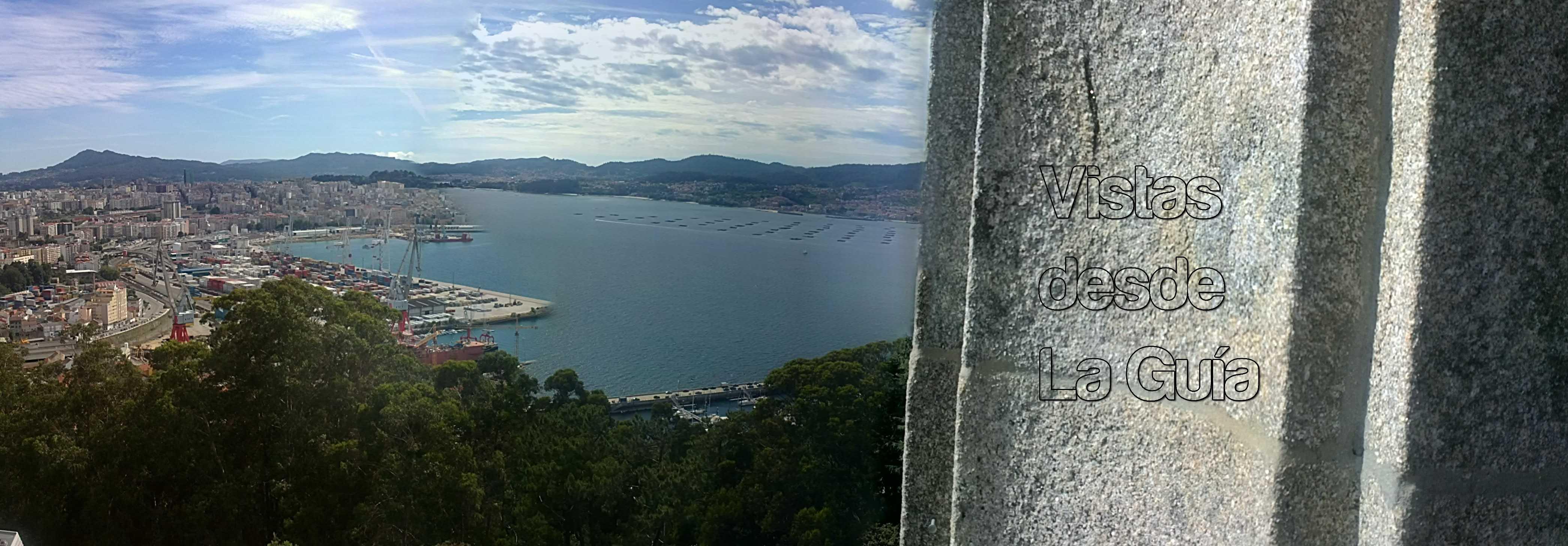 Vigo desde el Monte de A Guía