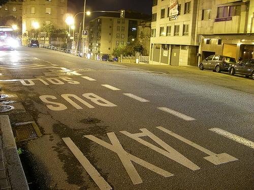 Atención: Carretera Peligrosa