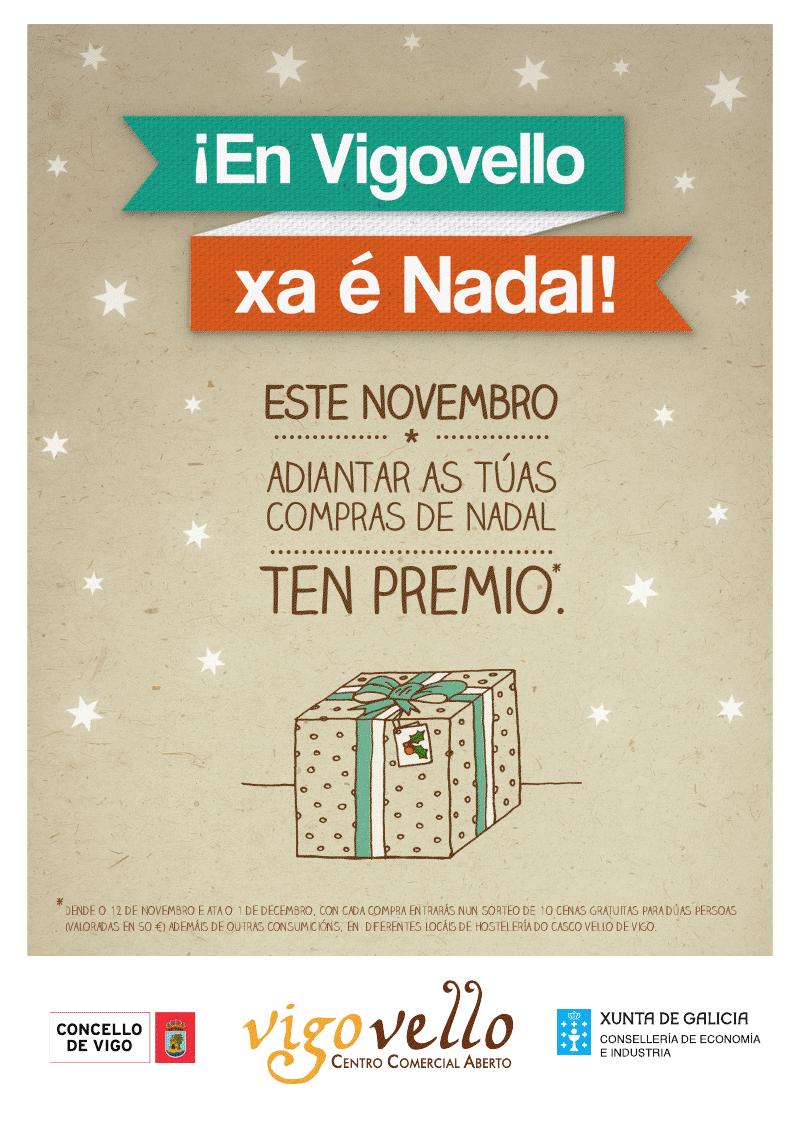 Xa é Nadal en VigoVello