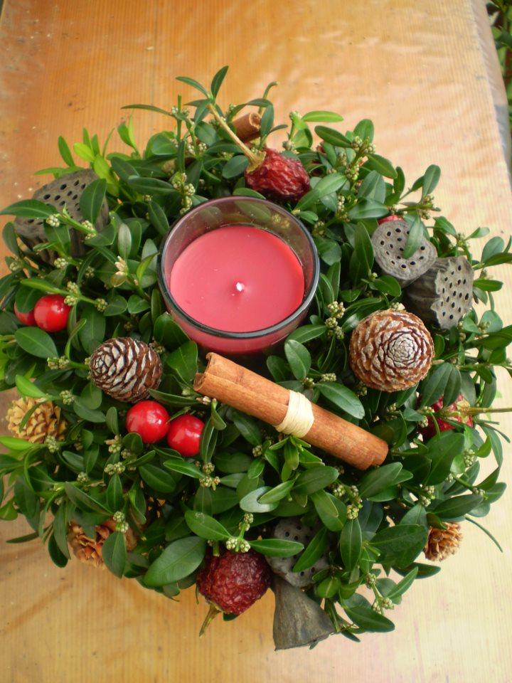 Cursos de Navidad en Gadea Arte & Decoración floral