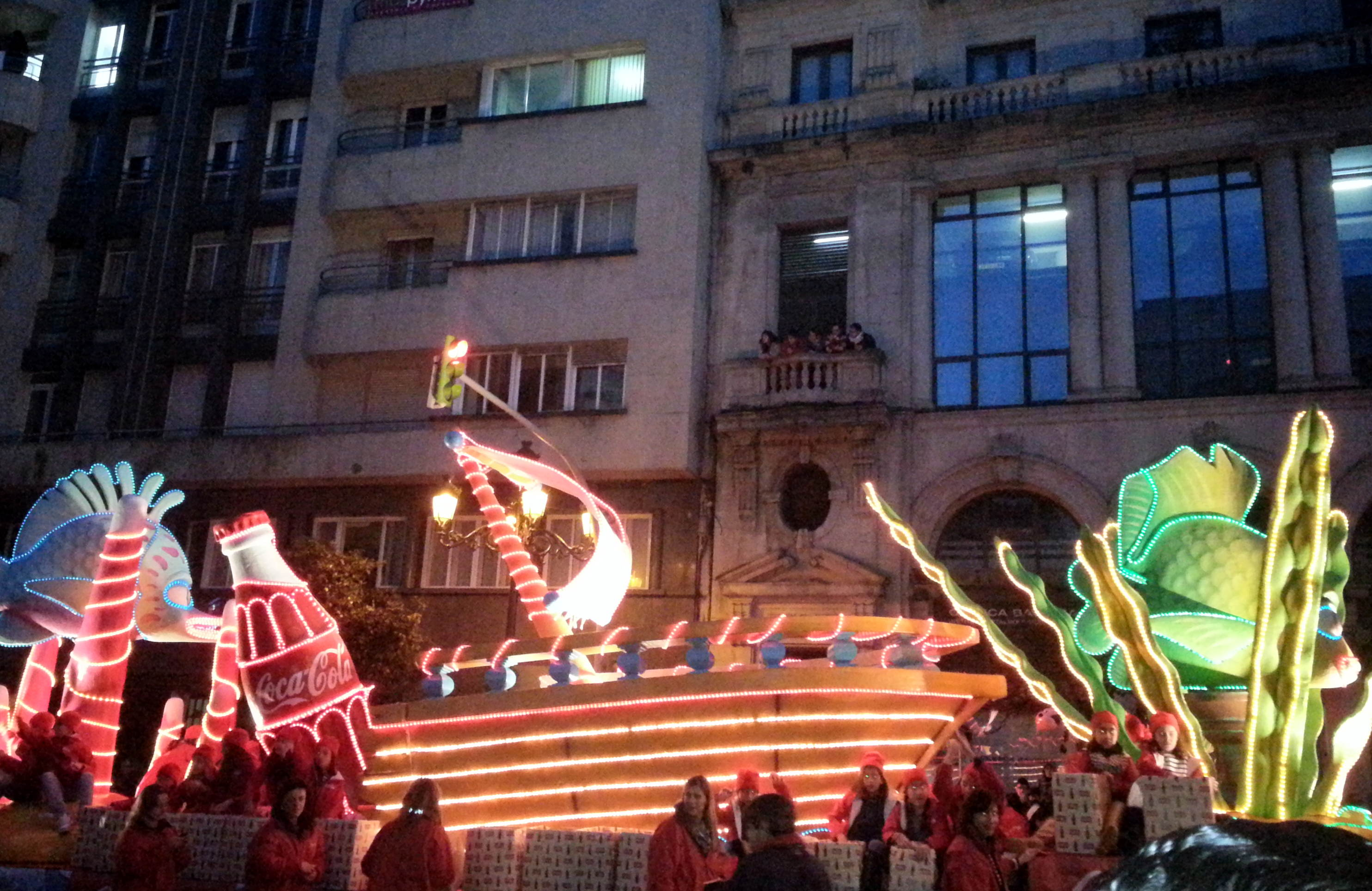 Fotos cabalgata de Reyes 2013 en Vigo