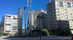 foto plaza elíptica vigo