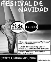 baile festival navidad