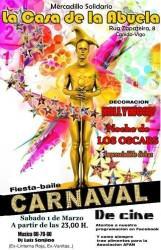 carnaval cine casa de la abuela disfraz