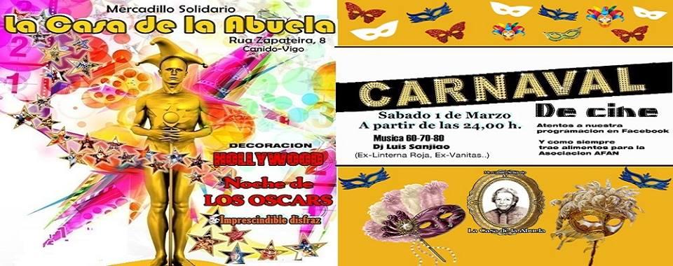 Carnaval de Cine en La Casa de la Abuela