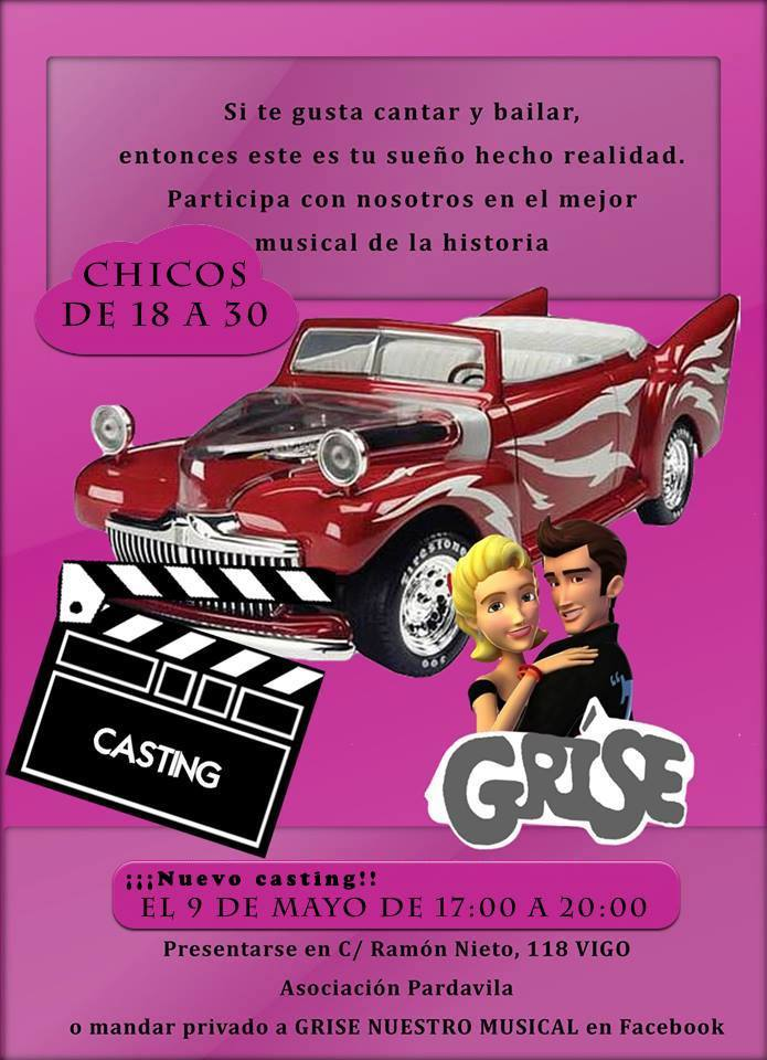 Casting para musical al estilo Grease
