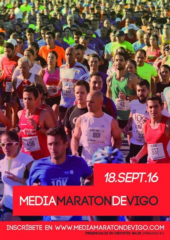 Media Maratón de Vigo 2016
