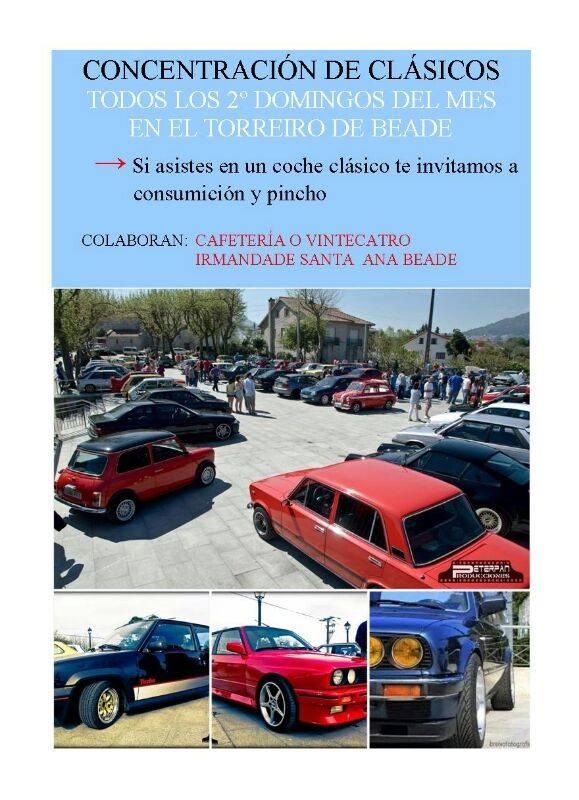 Concentración de coches clásicos