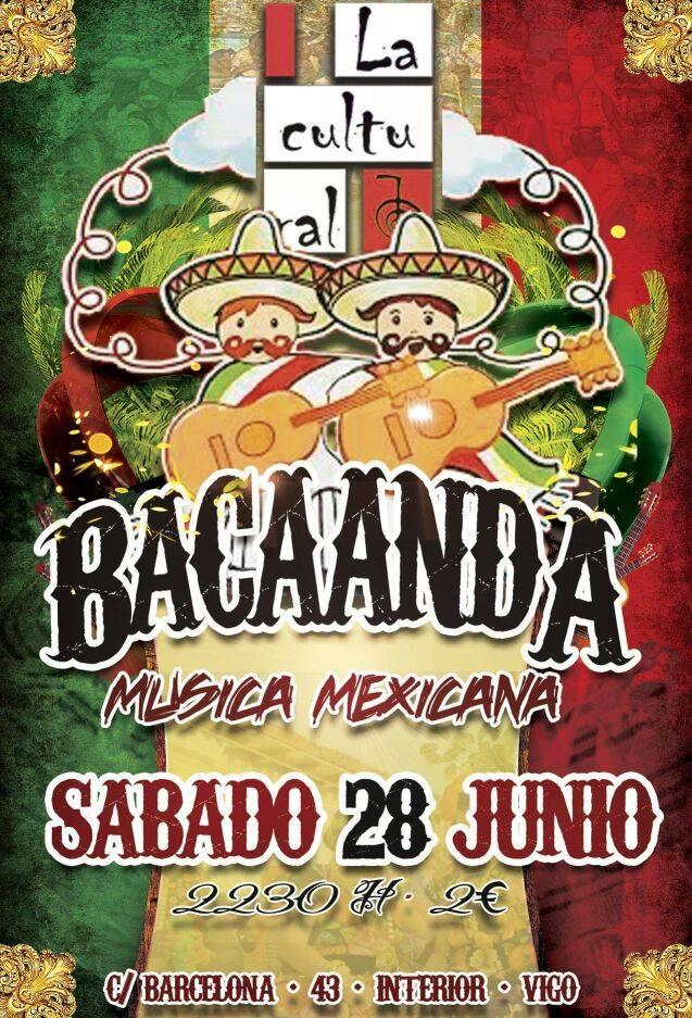 Fiesta Mejicana con la Bacaanda