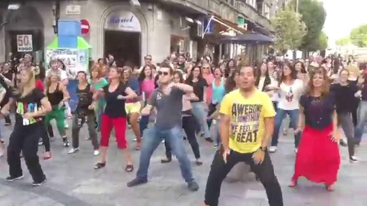 Así fue el flashmob de Junio en el Calvario