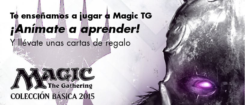 Iniciación al juego de Magic the Gathering