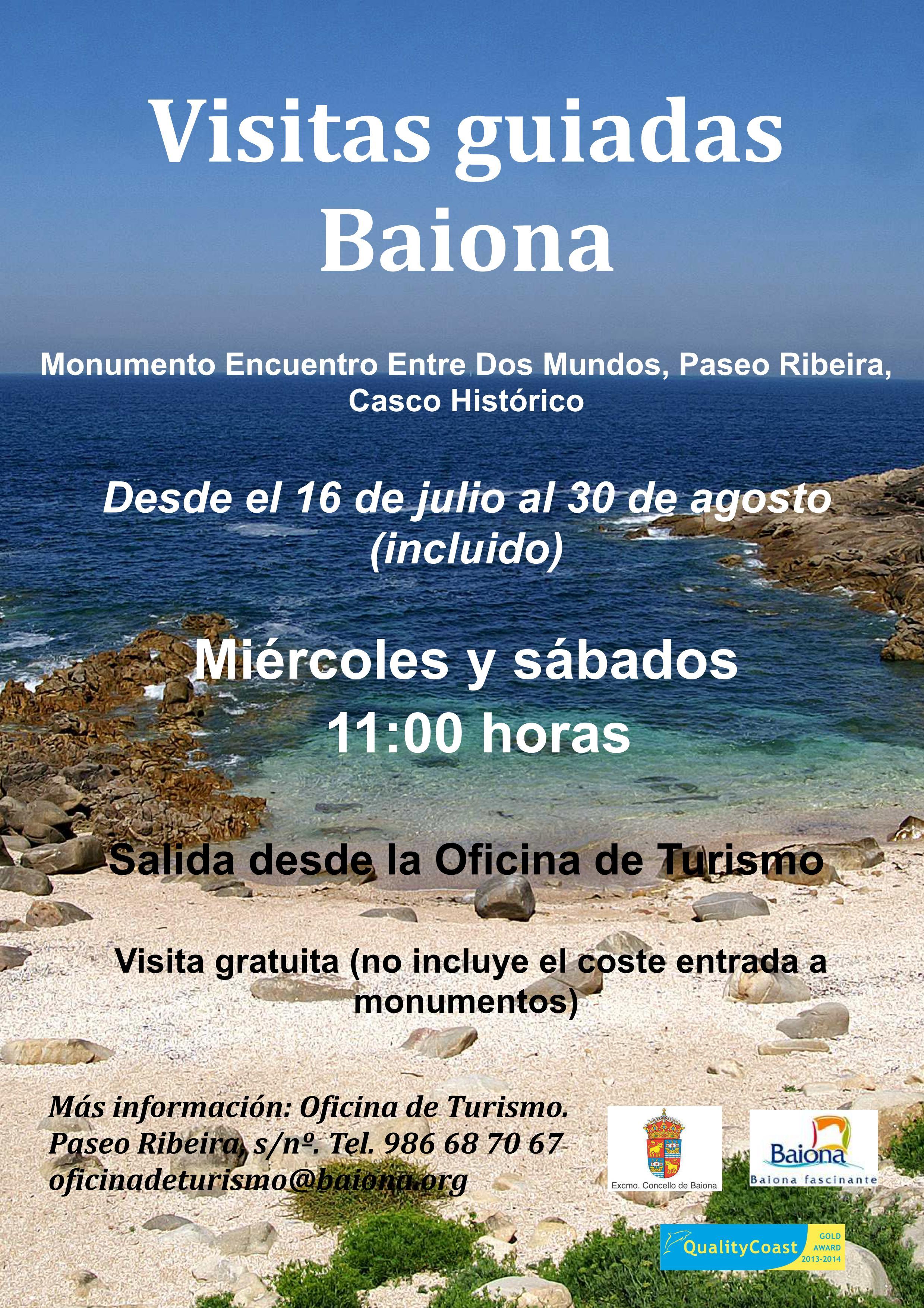 Baiverán: Verano en Baiona 2014