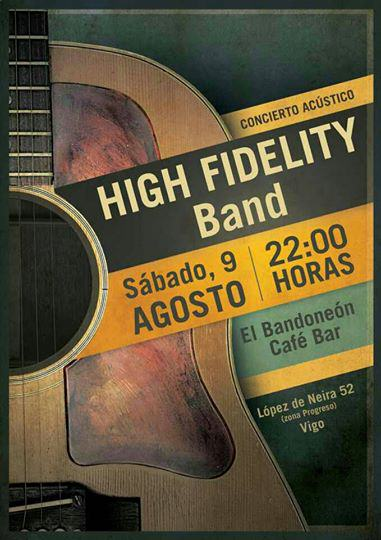 Concierto acústico de High Fidelity Band