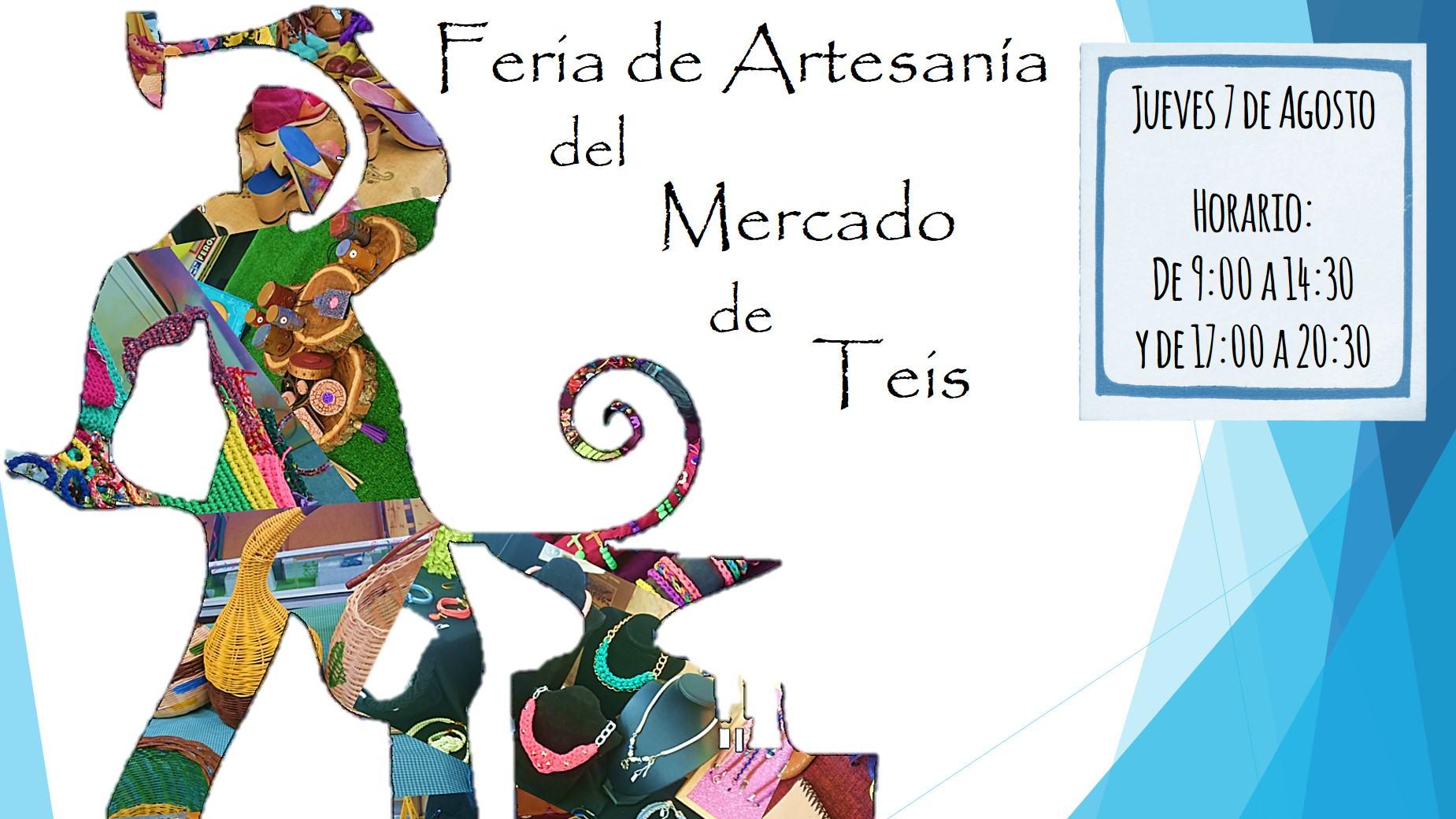 Feria de Artesanía del Mercado de Teís