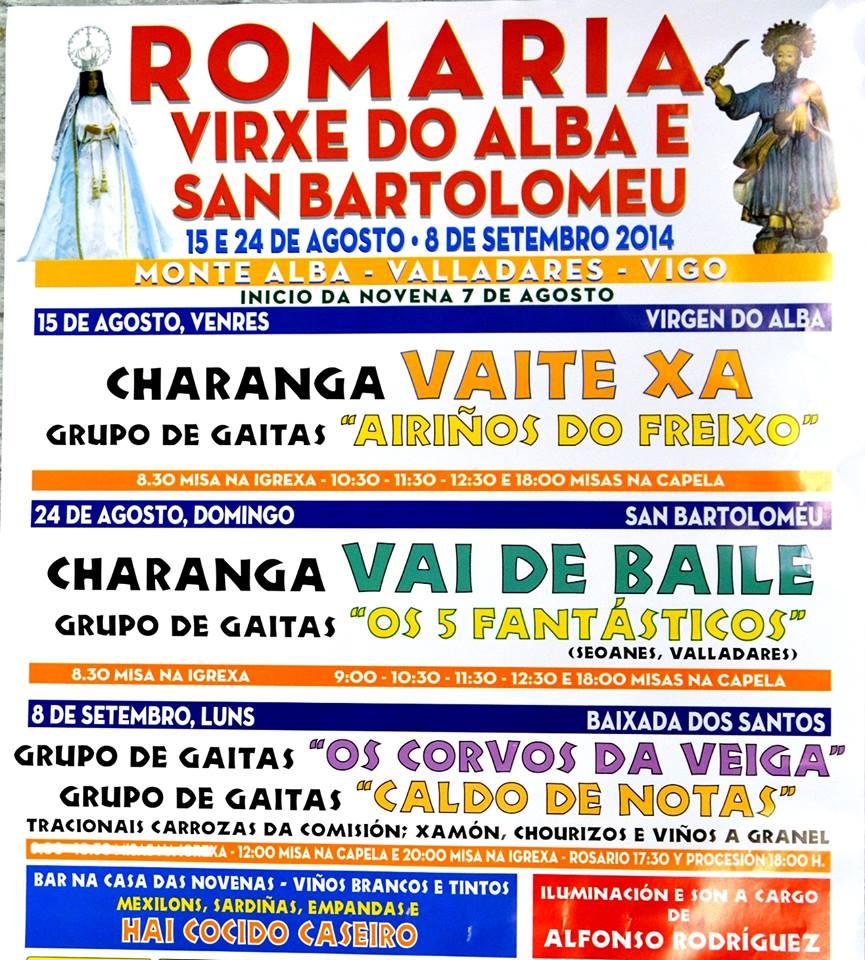 Romaria Virxe do Alba e San Bartolomeu
