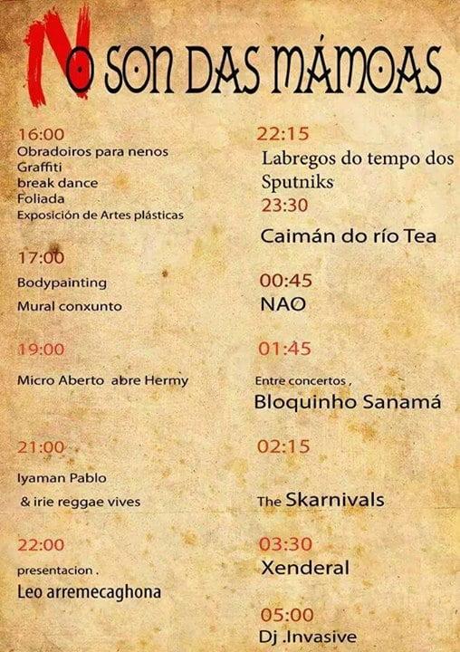 Festival O Son Das Mámoas 2014