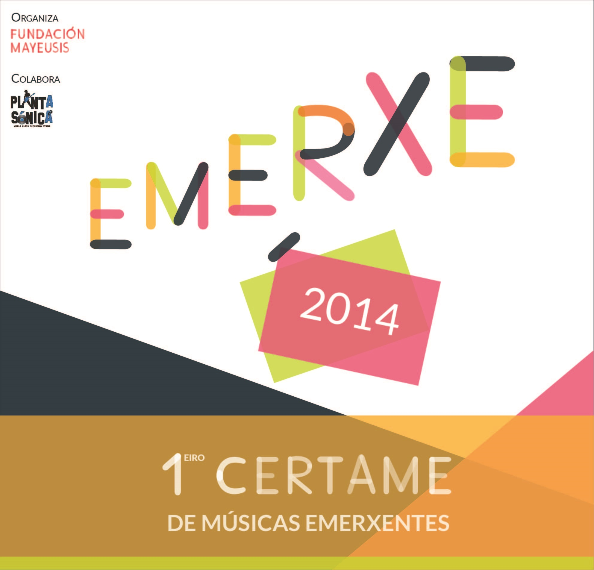 CARTEL EMERXE 2014