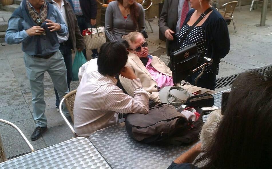 Stephen Hawking en Vigo
