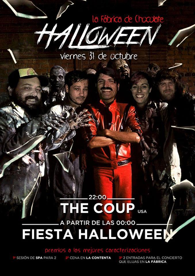 Halloween con The Coup