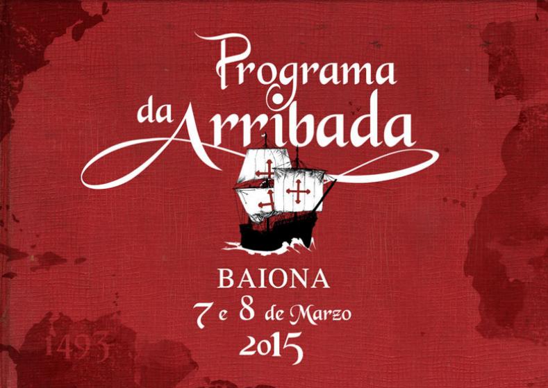 Programa Arribada Baiona 2015