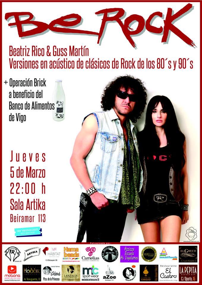 Concierto de Be Rock en Vigo