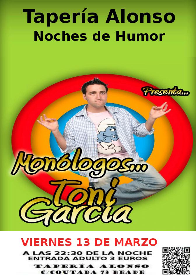 Monólogo de Toni García