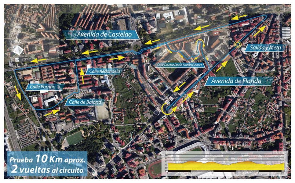 Nocturna Correndo por Vigo