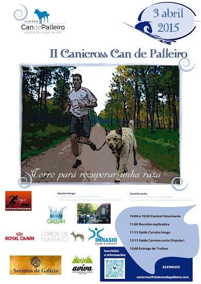 Canicross Can de Palleiro