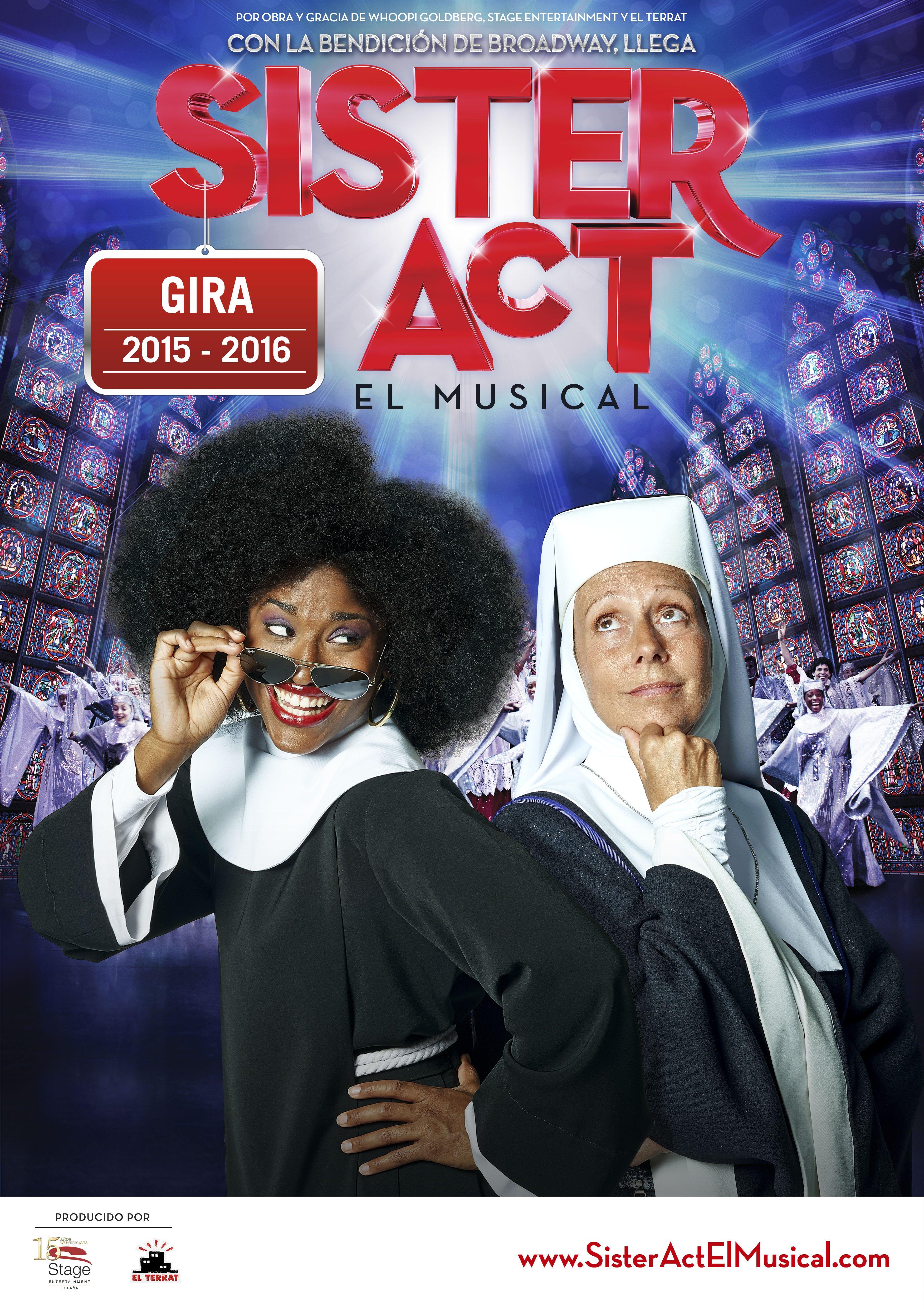 Musical SISTER ACT en Vigo