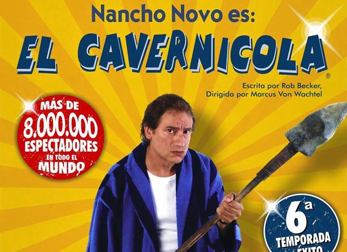 El Cavernícola, de Nancho Novo