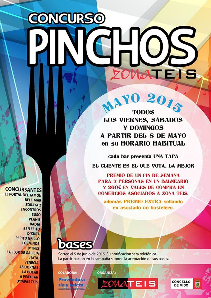 Concurso Pinchos Zona Teis