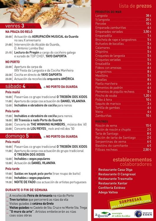 Fiesta de la Langosta 2015