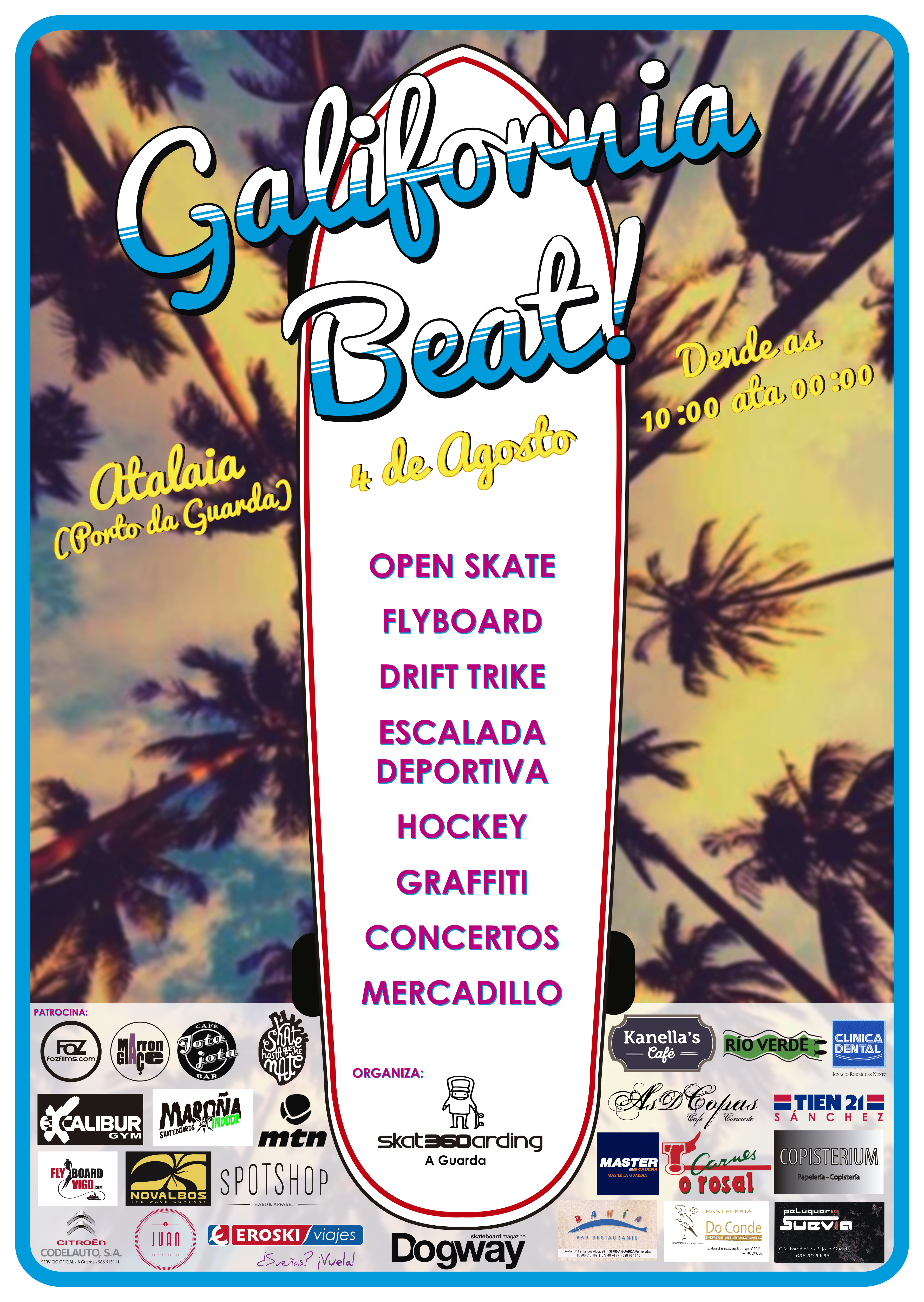 Galifornia Beat en A Guarda