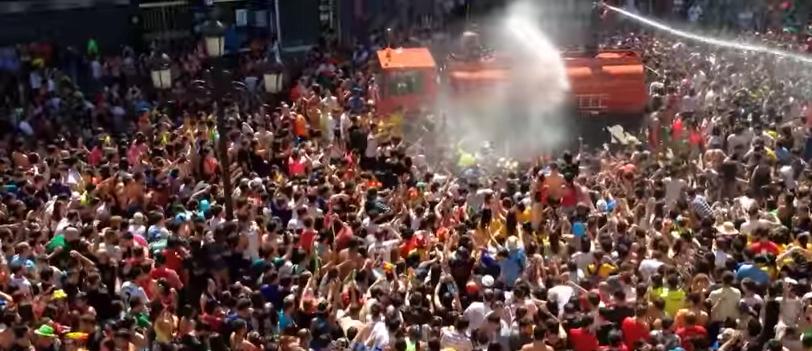 Fiesta del agua 2015 en villagarc a de arosa qu hacer - Inmobiliarias villagarcia de arosa ...
