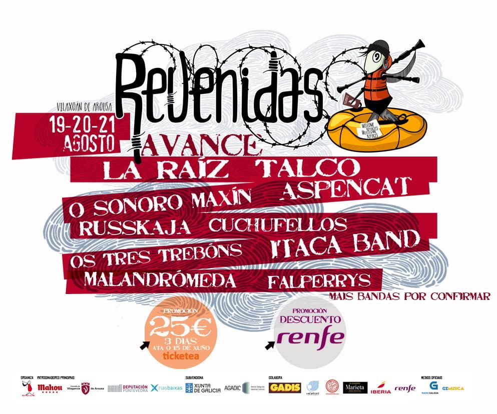 Festival Revenidas 2016 en Vilagarcía de Arousa