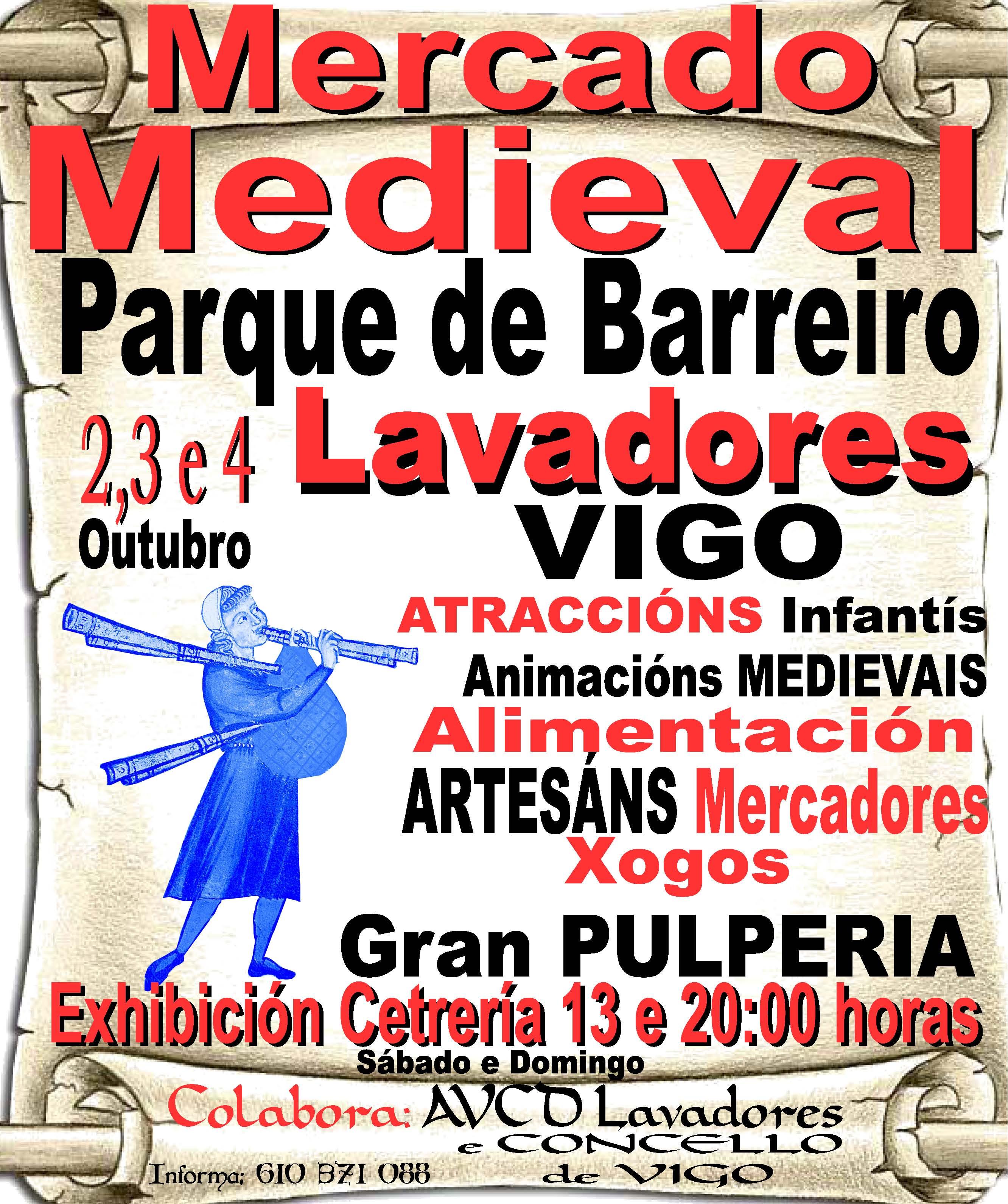 Mercado medieval de Vigo – Lavadores