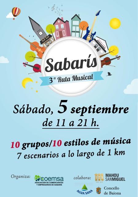 Ruta Musical Sabarís 2015