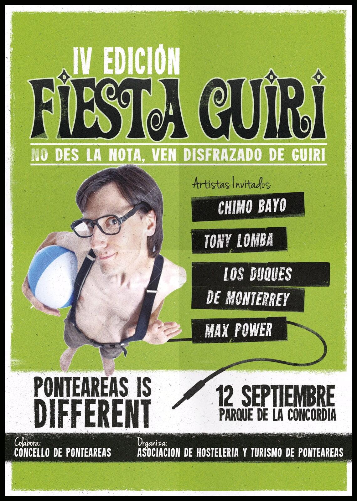 Fiesta Guiri en Ponteareas 2015