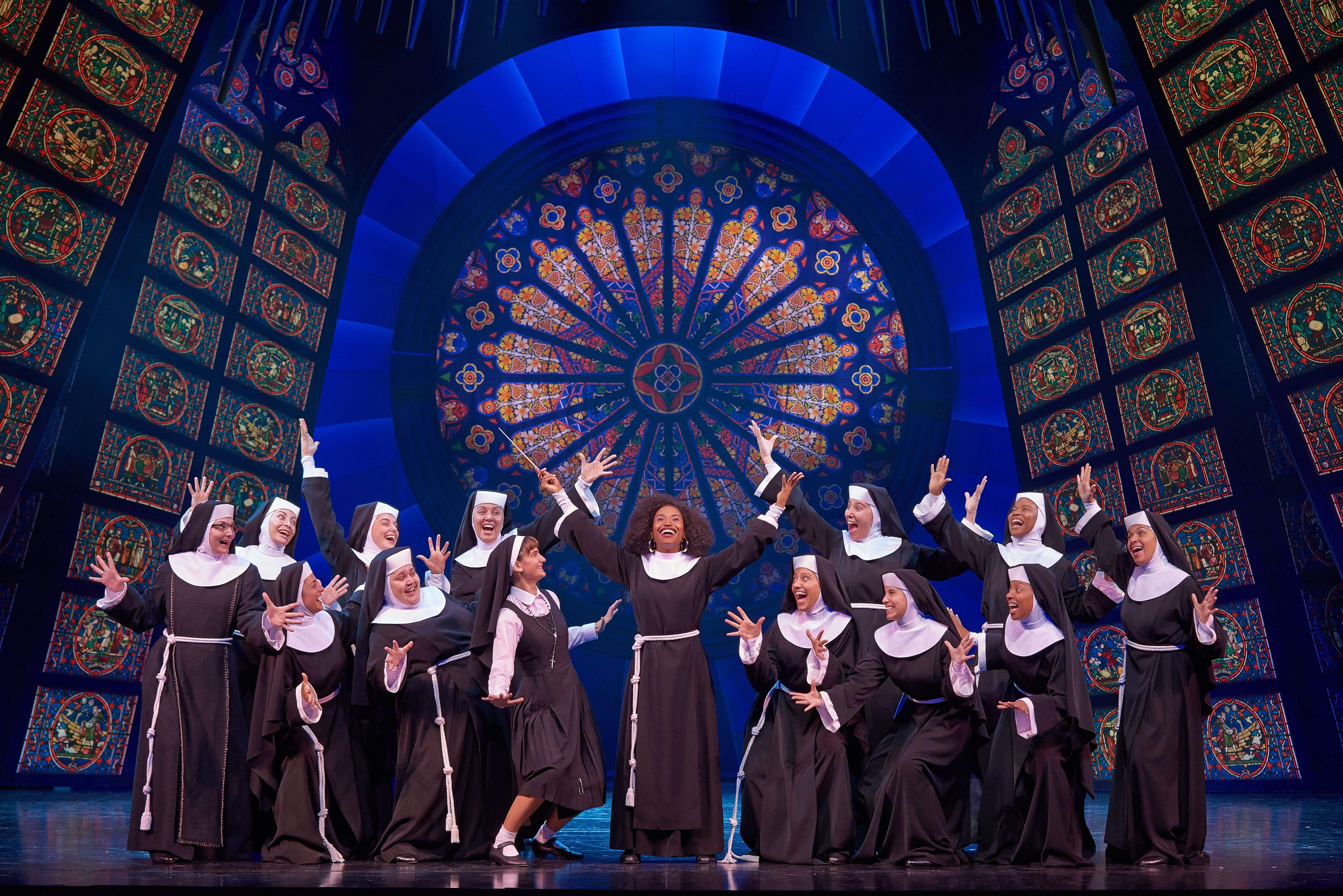 El Mar de Vigo se transforma en un 'convento' con Sister Act