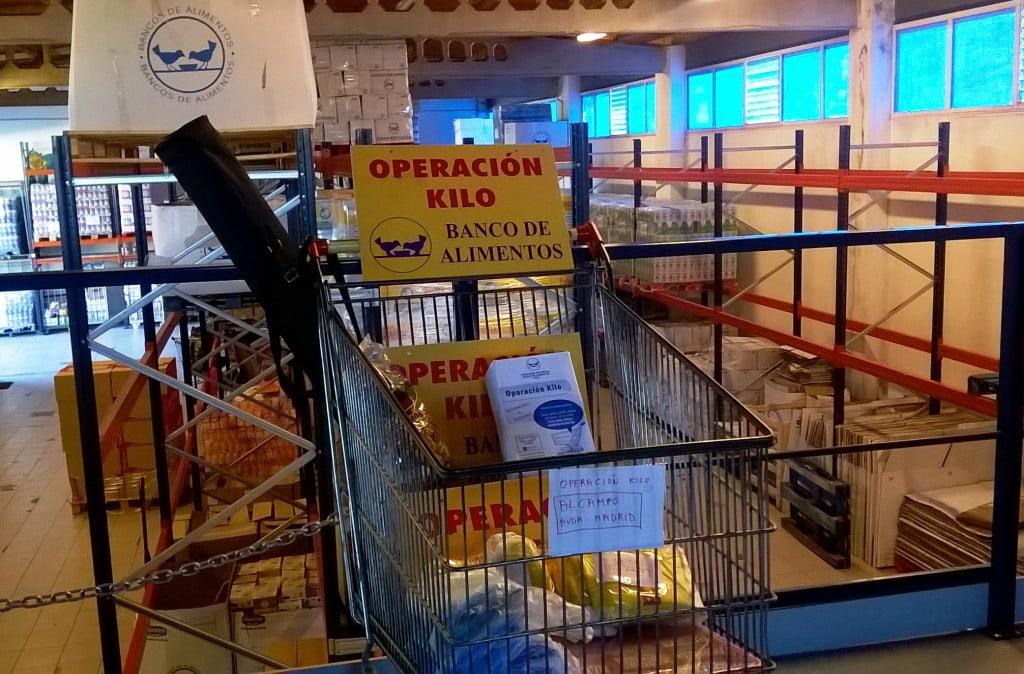Operación Kilo, Banco de Alimentos