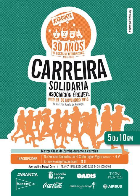 Carrera Solidaria Asociación Érguete