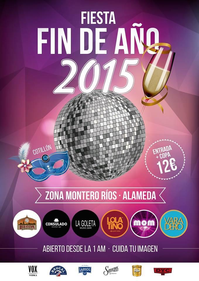 Fiestas Fin de Año 2015 en Vigo