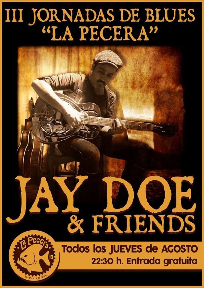 Concierto acústico de Jay Doe