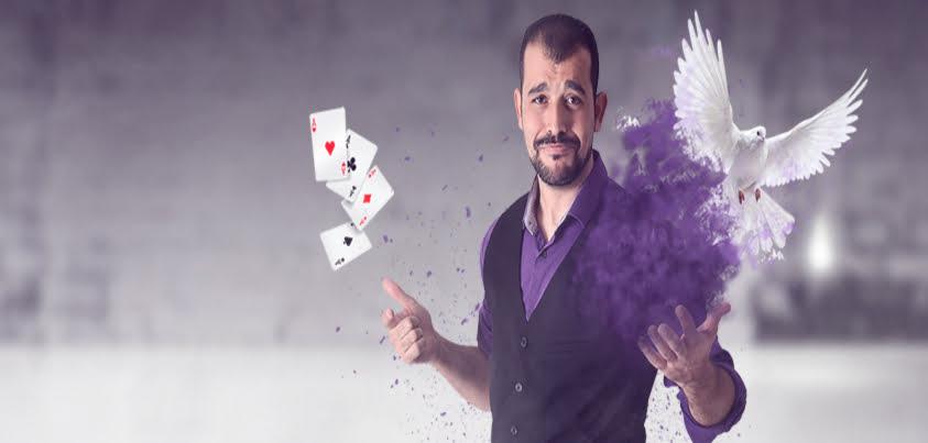 Humor y Magia con Andrés Madruga