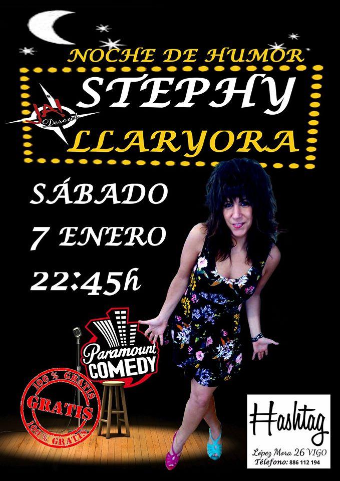 Stephy Llaryora en Vigo