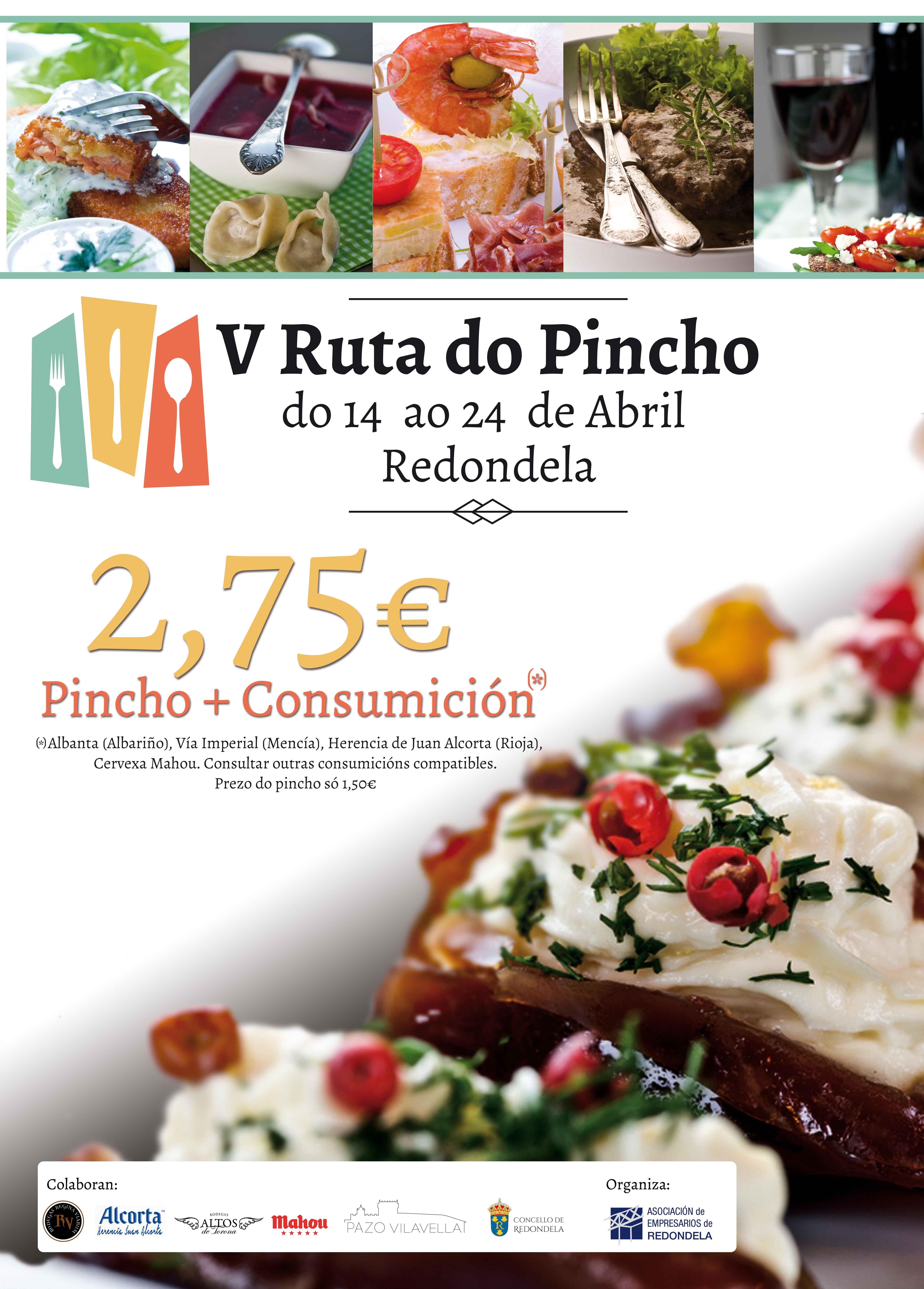 RUTA PINCHO REDONDELA 2016